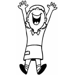 D's-Supporter-Jumping-Happy-Girl