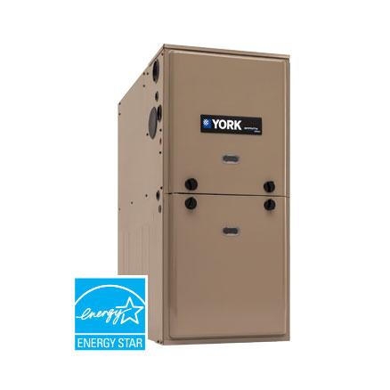 New Heating System York YP9C