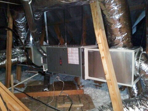 Knowledge Trane Furnace Install