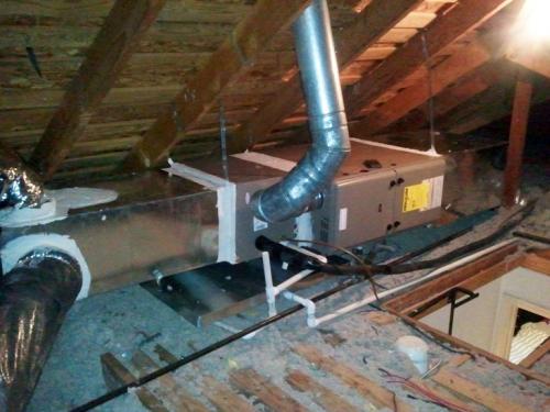 York Furnace Install