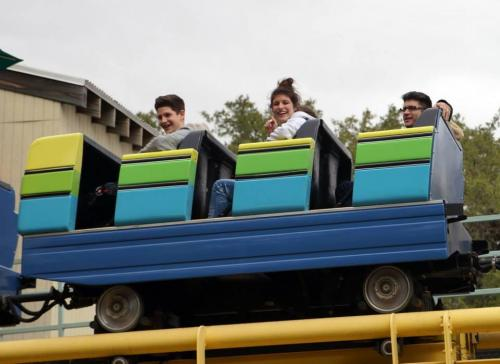 Roller Coaster Family Kids